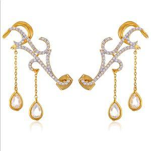 Noir Jewelry Ear Cuff Earring NWT